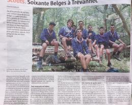 Article Le Télégramme - 18 07 2019