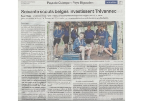 Article Ouest France - 21 07 2019
