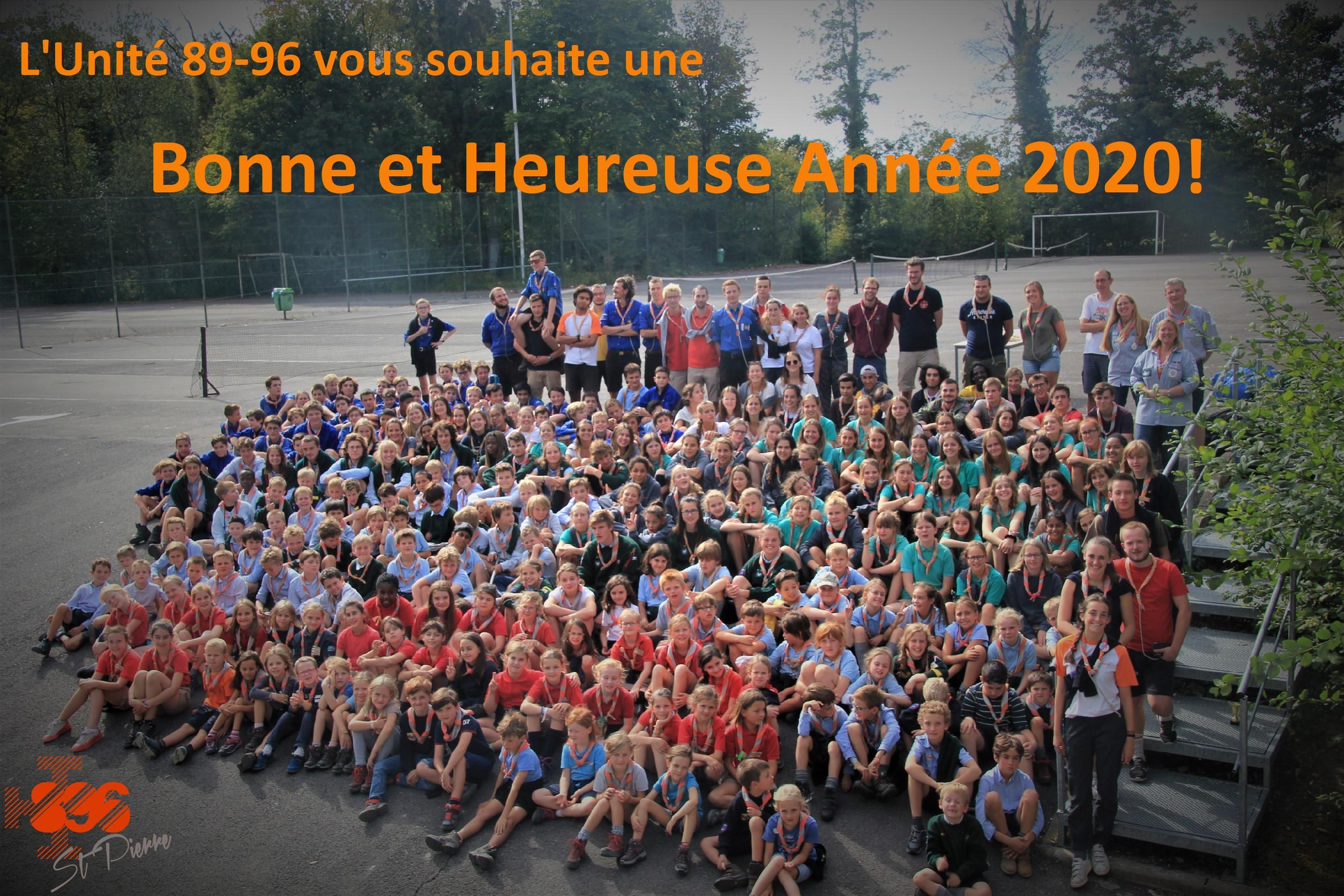 Unite 896 - Voeux 2020